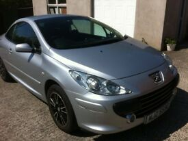PEUGEOT 307 CONVERTIBLE FACELIFT MODEL ( IMMACULATE ) !!!!