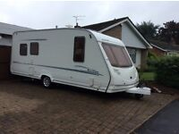 Sterling Eccles Amethyst 5 berth caravan. 2005