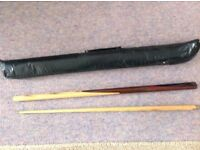 Snooker cue Elite portable cue,