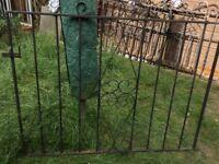 Garden gates x 2 sets