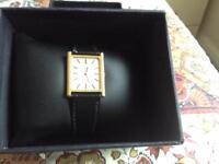 Gold plated Omega de Ville wristwatch