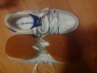 SIZE 7 COURT MASTER TRAINERS kindly donated for local cancer charity funds thanks LoLo.