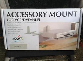 Accessory Mount for VCR/DVD/HI-FI