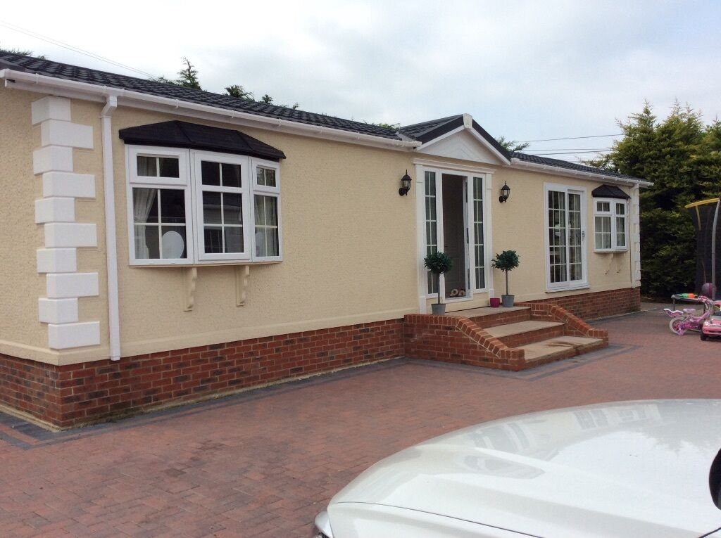 Stately mobile park home chalet in swanley kent gumtree for Mobil chalet