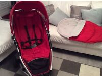 Red petite star zia buggy