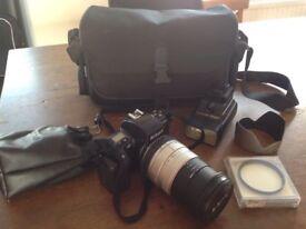 Nikon F601 35mm Film Camera