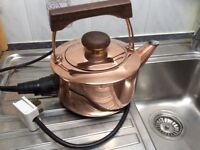 Copper electric kettle