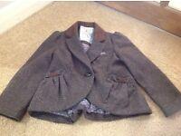 Girl's Tweed style jacket Size 3 yrs