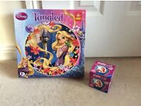 Disney Tangled Jigsaw and Ariel Puzzle Ball