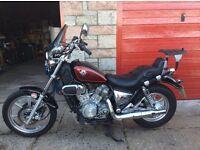 Kawasaki VN750 motorbike (1 owner since new) genuine mileage.
