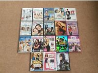 A bundle of Dvd's in their original cases.