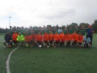 Find a Sunday football team near me, open football trial, join football team near me 201h2