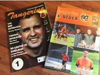 Dundee United 'Tangerine and Black' magazines