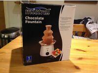 Chocolate fountain used twice