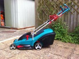 Bosch Rotak Ergo Flex electric lawnmower