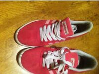 Adidas Size 5 (38 Euro) NEC Pink Trainers In Really Good Condition.