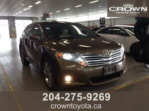 SAFETIED! AS IS/AS TRADED 2009 TOYOTA VENZA LIMITED AWD V6! ONE