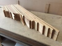 Knotty pine tongue and groove various lengths 18mm thick planed finish