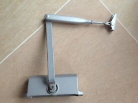 Pneumatic door closers 5 in total. Fully adjustable. Good condition.