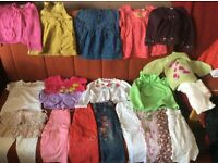 Big bundle of baby girl clothes 12-24 months!!!!!