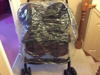Mothercare lightweight Graco Double Pushchair/Buggy - Twins