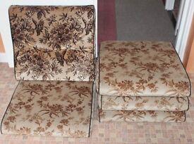 Seat base cushions (foam)