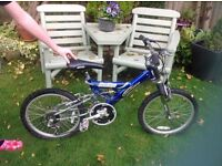 Shockzone Mountain Ridge child's bike