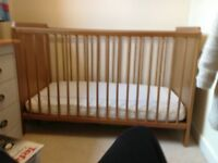 Childs cot IKEA