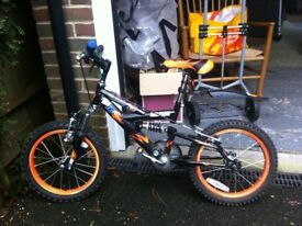 Kids Raleigh bicycle in good condition (MX16FS)