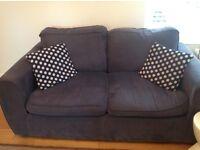 Blue Laura Ashley sofa