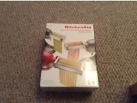 KitchenAid new unopened pasta set.REDUCED! Outstanding reviews £220 new