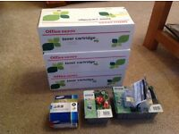 Ink cartridges. HP(compatible) Epson Samsung.