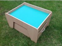 Children's Play Table and Storage - Mint Condition