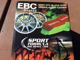 Freelander1 brand new brake pads.