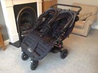 Baby Jogger City Mini GT Double - black/grey