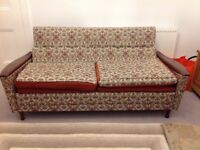 Genuine Geaves and Thomas Mid Century 1960's Sofa Bed