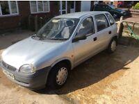 Lovely Vauxhall CORSA 1.2. 12 months mot drives suoerb