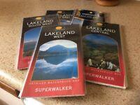 Lake District waterproof maps