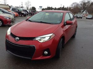 2014 Toyota Corolla Sport  Leather  $153 BIWEEKLY 0 DOWN!