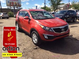 2012 Kia Sportage LX/2 year warranty