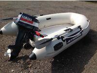 Yamaha 9.9 hi outboard & Jetmarine rib