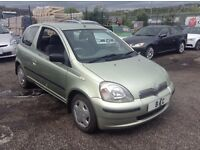 TOYOTA YARIS 1.3 PETROL 3DR+AUTOMATIC+1 OWNER FROM NEW+FULL SERVICE HISTORY+CHEAP INSURANCE+BARGAIN!