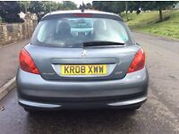 Peugeot 207, 1.4, 5 door diesel, great wee car, cheap to run, cheap insurance and road tax