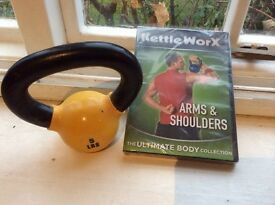 Kettleworx set and DVD workouts for sale
