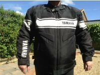 Mesh Motorcycle Jacket with removable outer panels plus removable liner incl armour size men's XL