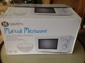 Microwave - Brand new packed and boxed