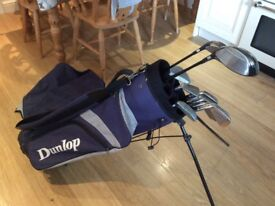 Selling golf bag and golf clubs