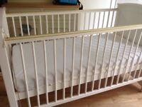 Cot bed (John Lewis)