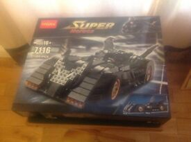 Super Heros Batmobile