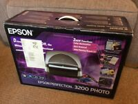 Epson Perfection 3200 Photo Scanner, never used £60